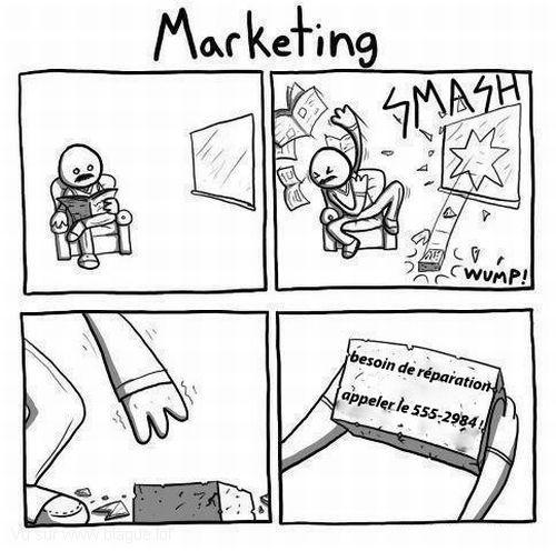 Le marketing - 95 hits