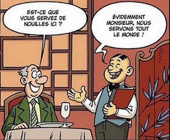 image drole restaurant