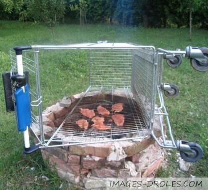 image drole barbecue