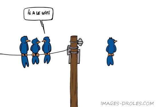 Voici des images de à quoi ressemblerait le Wi Fi si on pouvait voir les ondes