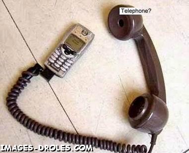 photo drole telephone