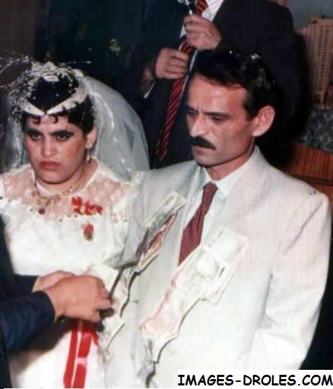 image drole de mariage